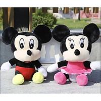 Gấu bông Chuột Mickey dễ thương 22cm - 1 mẫu - màu ngẫu nhiên
