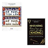 Bộ 2 cuốn sách dành cho người có ý định kinh doanh ăn uống: Bổ Được Cà Chua Mở Được Tiệm Cơm Bật Được Nắp Chai Mở Được Quán Nhậu - Nhà Hàng Không Bao Giờ Nói Không