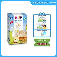 Bột ăn dặm dinh dưỡng Sữa, Hoa quả nhiệt đới, Sữa chua HiPP Organic 250g