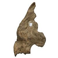 Gỗ lũa ngọc am tự nhiên phong thủy Mã 08 (33cm x 29cm)