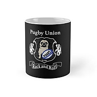 Cốc sứ in hình - Union Rugby Pug Design For Dog Lovers Mug - - Best Gift For Family Friends- MS 1020