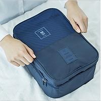 Túi Đựng Giày Cao Cấp, Túi Du Lịch Hàn Quốc, chống thấm ngăn mùi, xếp gọn đa năng trong vali túi Bag in Bag.