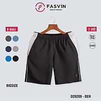 Quần đùi Big Size thể thao nam Fasvin D20209.HN vải mềm mại co giãn thoải mái