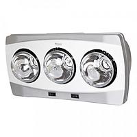 Đèn sưởi nhà tắm 3 bóng Hans H3B - Hàng chính hãng