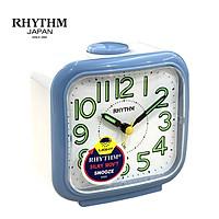 Đồng hồ báo thức chuông Nhật Bản RHYTHM CRA848NR04 – KT 10.8×10.6×6.4cm, Sử dụng PIN.