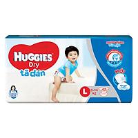 Tã Dán Huggies Dry Gói Đại L42 (42 Miếng) -...