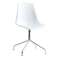 Ghế Bàn Ăn Vildsund Khung Mạ Chrome JYSK Plus (48 x 85 x 52 cm) - Trắng