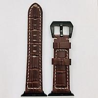 Dây đeo cho Apple Watch hiệu Kakapi Leather Ds size 42 mm - Hàng nhập khẩu