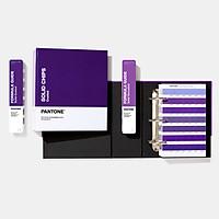 Bộ 2 sản phẩm bảng màu Pantone Solid C U gồm Formula Guide và Chip set Coated Uncoated GP1608A - Phiên bản 2020 - 2,161 màu pha PMS đầu 1-7 - Nhập khẩu từ PANTONE LLC USA - Ngành đồ họa in ấn