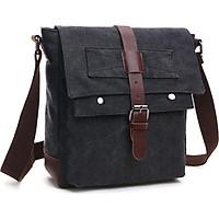 Túi đeo chéo nam thời trang vải canvas TX0010 - đi học - đi chơi