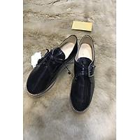 giày bánh mì nữ màu đen size 35