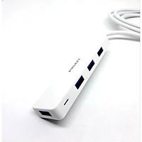 Bộ chuyển đổi Pisen Hub USB3.0 1.5m (Từ 1 cổng USB ra 4 cổng USB ) -PSPKK0047 -  Hàng Chính Hãng