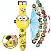 Đồng hồ điện tử đeo tay chiếu 24 hình 3D Projector Watch Minions
