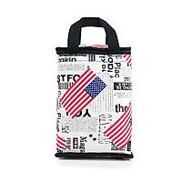 Túi giữ nhiệt kiểu đứng phong cách châu mỹ