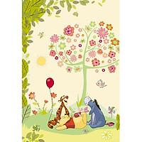 Tranh Dán Tường CASAMA Chú Gấu Pooh - 1-409