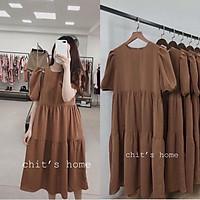 Váy bầu đẹp - Đầm bầu suông-Váy bầu thời trang thiết kế freesize từ 45 đến 70k