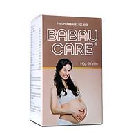 Thực phẩm chức năng Viên giảm ốm nghén cho bà bầu Babau Care (hộp 60 viên)