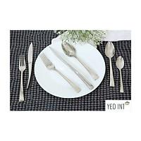 Bộ 6 Món Dao Nĩa Muỗng Dòng Cao Cấp Inox 304 18/10 Bouscoe Stainless Steel Cutlery