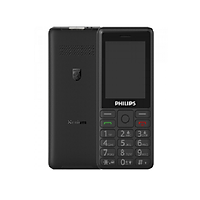 Điện thoại di động E-UTRA FDD (4G) Philips Xenium E506 Black - Hàng Chính Hãng, Bảo Hành Chính Hãng 12 Tháng