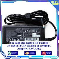 Sạc dành cho Laptop HP Pavilion 15-cs0014TU HP Pavilion 15-cs0018TU Adapter 19.5V 3.33A - Hàng Nhập khẩu