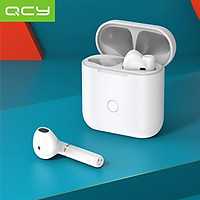 QCY T8 TWS Earphones BT5.1 Wireless Headphones HiFi Sound  DSP Noise Reduction Pop-Up Fast Pair 17.5h Battery Life Touch
