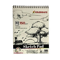Tập Giấy Vẽ A4 Sketch Pad ARTIST-SP (30 Tờ) Colormate
