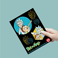 Rick and Morty - Single Sticker hình dán lẻ
