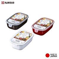 Hộp nhựa cao cấp Nhật Bản Nakaya 500ml bảo quản thực phẩm dùng trong lò vi sóng ( giao màu ngẫu nhiên )