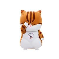 Gấu Bông, Gấu Nhồi Bông Hình Chú Mèo Đau Khổ Siêu Đáng Yêu Một Màu Như Hình Size 30cm