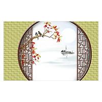 Tranh dán tường cổ điển 3D 3DC974