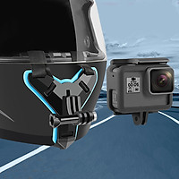 Motorcycle Helmet Camera Stand Integral Design for GOPRO Hero7/5 Yi Sargo SJ Cameras