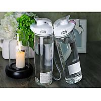 Combo 2 Bình nước nhựa thể thao dung tích 500mL không BPA tiện dụng , an toàn , thân thiện môi trường