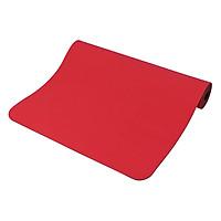 Thảm Tập Yoga Relax Ec Tpe 2 Lớp (183 x 61 x 0.6 cm) - Đỏ
