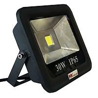 Đèn pha LED ngoài trời HKLED tròn chóa rộng 30W - IP65