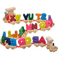 Đồ chơi xe lửa 26 chữ cái cho bé