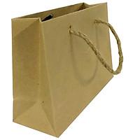 Bộ 10 Túi Giấy Kraft Trơn Vinanetco KT10 (10 x 15 x 5 cm) như hình
