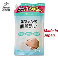 Nước giặt em bé Smart Angel Nhật Bản túi 1600 Siêu tiết kiệm