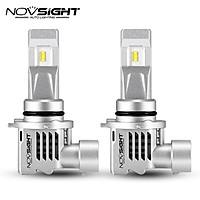 Novsight  H7 H4  H3 H1 Led Car Headlight 6000K  10000lm Pair Automotive H11 9005 9006 HB2 Hi/lo Beam Auto Headlamp