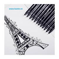 Bút nước vẽ kỹ thuật 0.05mm - BK800 mực đen
