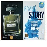 Combo Sự quyến rũ của thương hiệu + Brand Story: Thổi Hồn Thương Hiệu Làm Triệu Người Mê