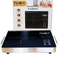 Bếp Hồng Ngoại 2000W Fujika FJ-SV211 Mặt Kính Ceramic Nấu Mọi Loại Nồi Có Thể Nướng Trực Tiếp Trên Bếp-Hàng Nhập Khẩu