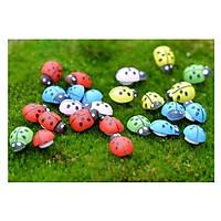 10 Con Bọ Cánh Cứng Trang Trí Cây Mini ( Giao màu ngẫu nhiên )