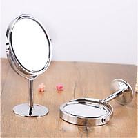 [COMBO 2 Chiếc] Gương trang điểm để bàn đứng thép không gỉ sang trọng