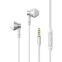 Tai nghe Remax RM201 tích hợp mic thoại, loại nhét tai, dành cho điện thoại, máy tính chất lượng cao - hàng chính hãng
