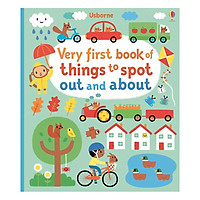 Usborne Very first book of things to spot out and about