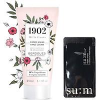 Kem Dưỡng Da Tay Berdoues 1902 Mille Fleurs Hands Cream (50ml) + Tặng kèm 1 mặt nạ sủi bọt thải độc da S:um 37 Đen