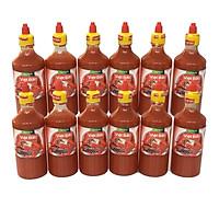1 thùng 12 chai tương ớt Việt Bắc vị chua cay Hàn Quốc (500ml)