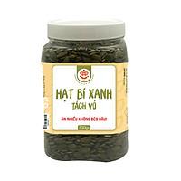 Hạt Bí Xanh Đã Tách Võ (Đã Rang) TETE 500 gram