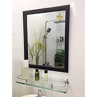 Gương soi Kibath có khung kích thước 40x50 cm