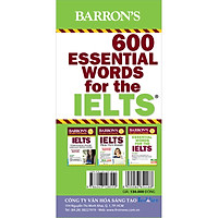Hộp Flash Cards - 600 Essential Words For The IELTS (Tái Bản)